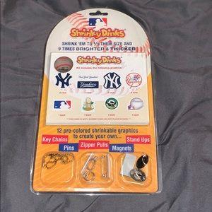 Brand New Shrinky Dinks New York Yankees MLB